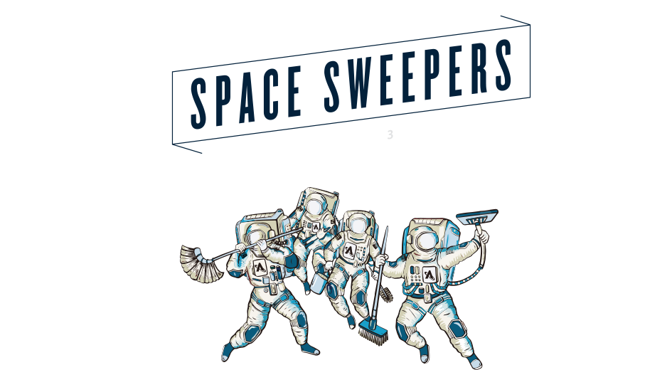 ASTROSCALE SPACE SWEEPERS SINCE 2013